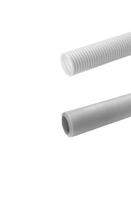 Sistema di distribuzione aria tubo tondo per VMC