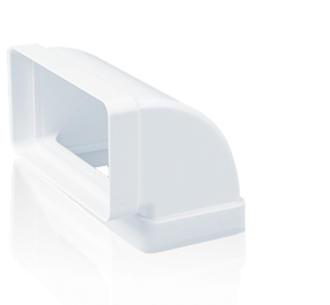 Vendita Curva verticale 90° per Tubo Rettangolare TUBPLA