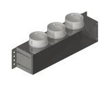 Vendita Adattatore 400x100x100 con attacco reversibile laterale/posteriore per tubo tondo