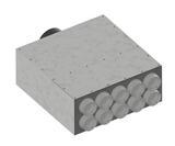 Vendita Box Medium di distribuzione silenziato con attacco reversibile laterale/posteriore