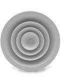 Vendita Diffusori circolari DC/01 a coni fissi in alluminio