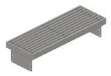 Vendita Griglia per installazioni a pavimento pedonabile colore argento