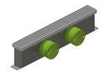 Vendita Set completo griglia a pavimento pedonabile e adattatore con attacchi per tubo tondo